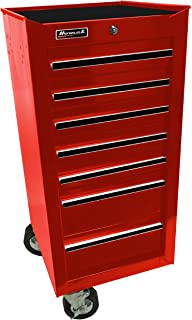 Amazon.com: 18 Inch 7 Drawer Glossy Red End Cabinet for Roller ...