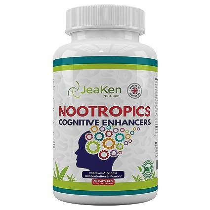 MEJORADORES COGNITIVOS NOOTROPICOS Por JeaKen - Suplementos Nootropic Brain - Vitaminas el Cerebro - Mejorar la