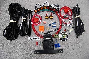 Polaris RZR Ranger General LED Turn Signal Kit w//HORN Street Legal Kit