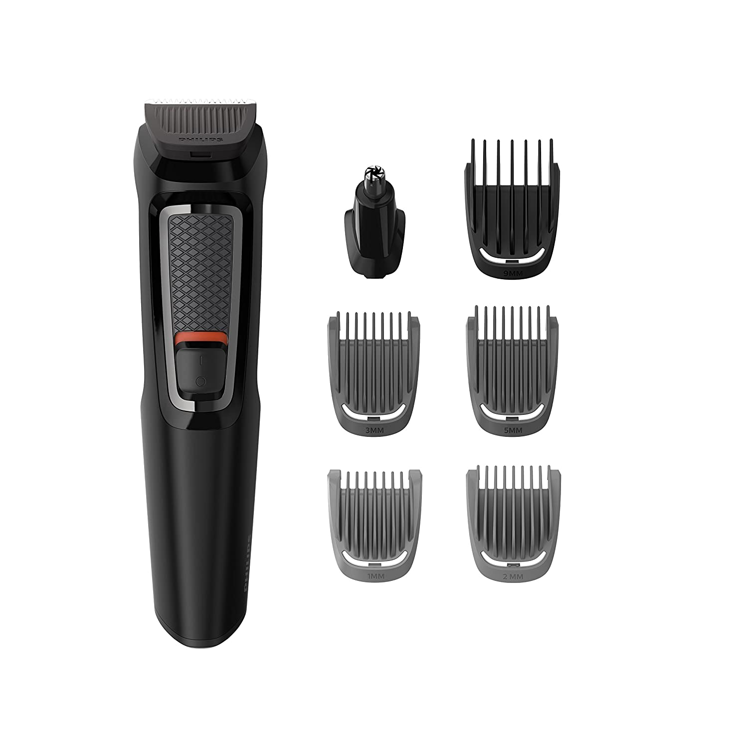 Philips Series 3000 7-in-1 Multi Grooming Kit for Beard   Hair with Nose  Trimmer Attachment - MG3720 13 66db0d3b7d5b