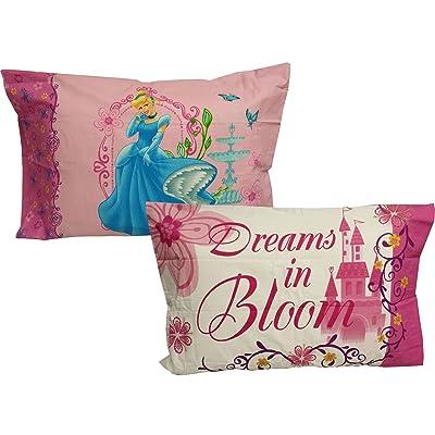 2pc Disney Princess Pillowcases - Cinderella Dreams Bedding Pillowcovers