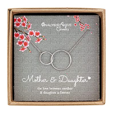 Amazon AnalysisyLove Mother Daughter Necklace