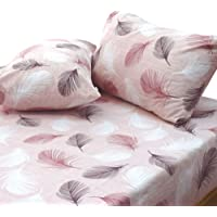 Essina 100% Cotton King Bed Sheet Set 4pc Valencia Collection, 620 thread count, Pigeon