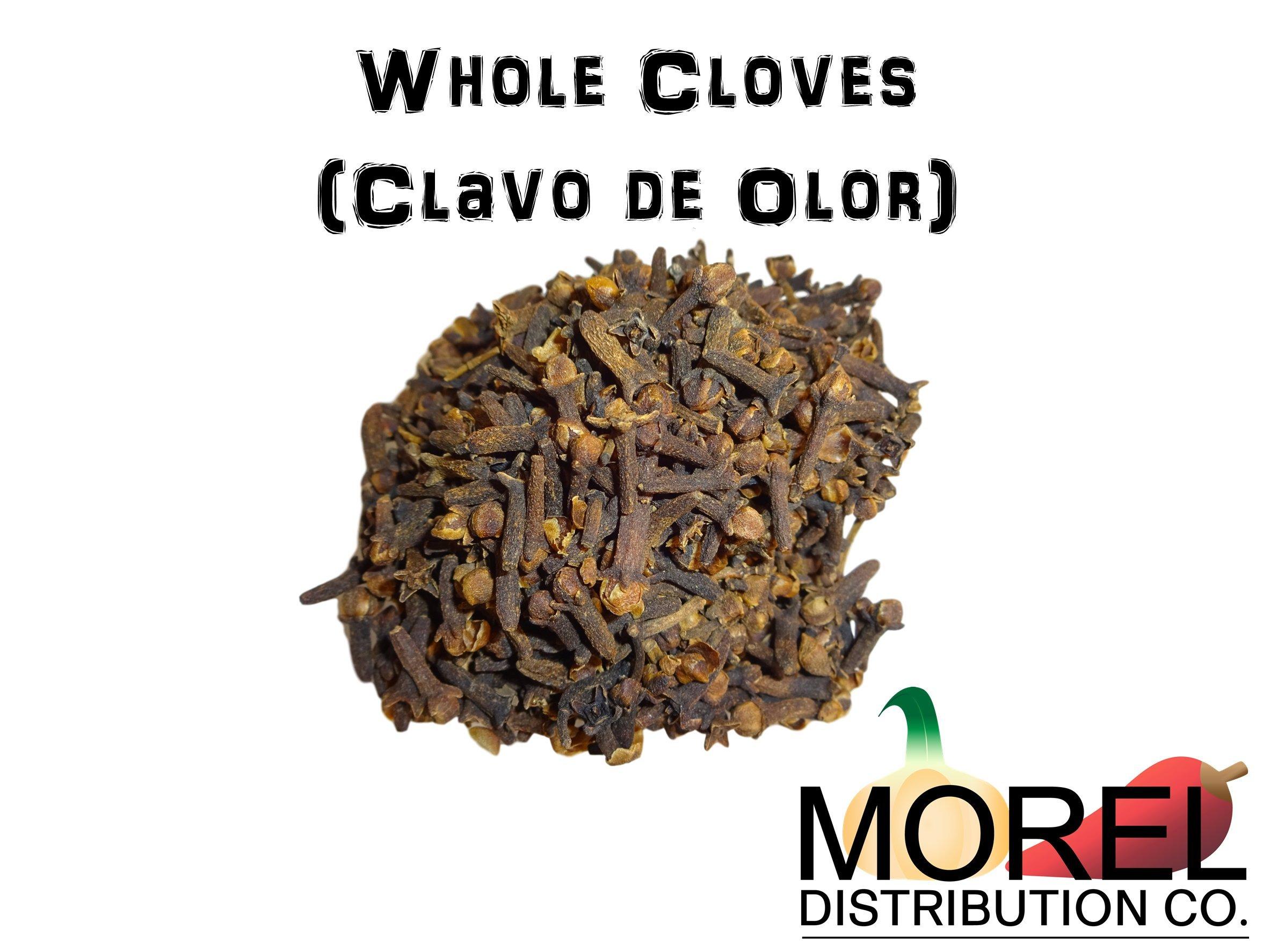 Whole Cloves (Clavo de Olor) Weights: 2 Oz, 4 Oz, 6 Oz, 8 Oz, 12 Oz, & 1 Lb (1 LB)