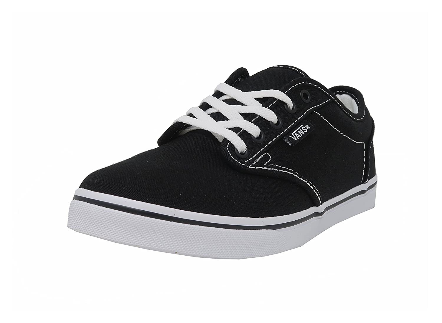 Vans Women's Atwood Low Fashion Sneakers Shoes B01N12D9SI 6 B(M) US|Black/White