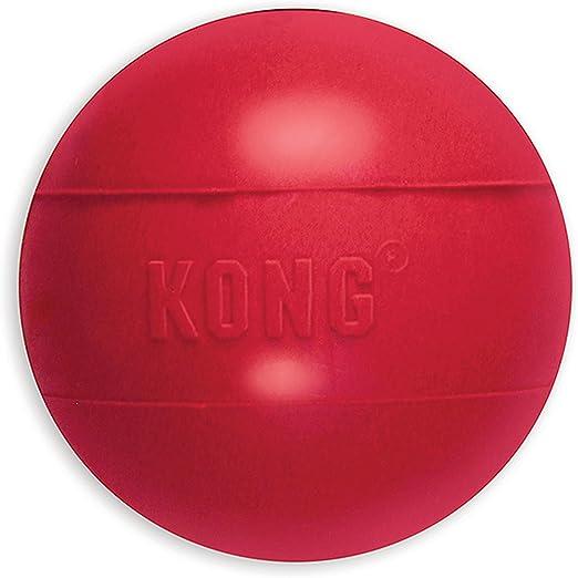 KONG - Ball with Hole - Juguete para buscar de caucho resistente - Para Perros Medianos/Grandes: Amazon.es: Productos para mascotas