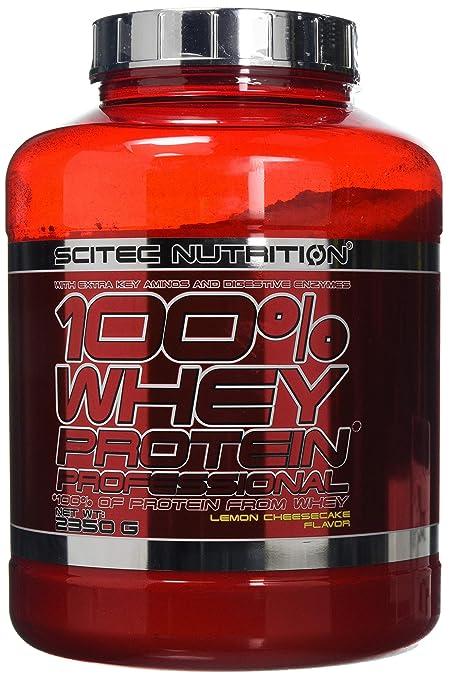 Scitec Nutrition Whey Protein Professional Proteína Limón, Tarta de Queso - 2350 g