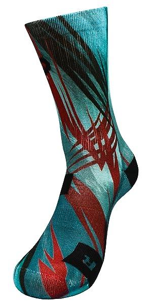 STYLE FOREVER Inspire Series Relámpago Tormenta - Active Athletic Calcetines deportivos personalizados (35-38