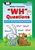 """WH"" Questions Software Program - Level 1: Sentence-Based Activities - Super Duper Educational Learning Toy for Kids"
