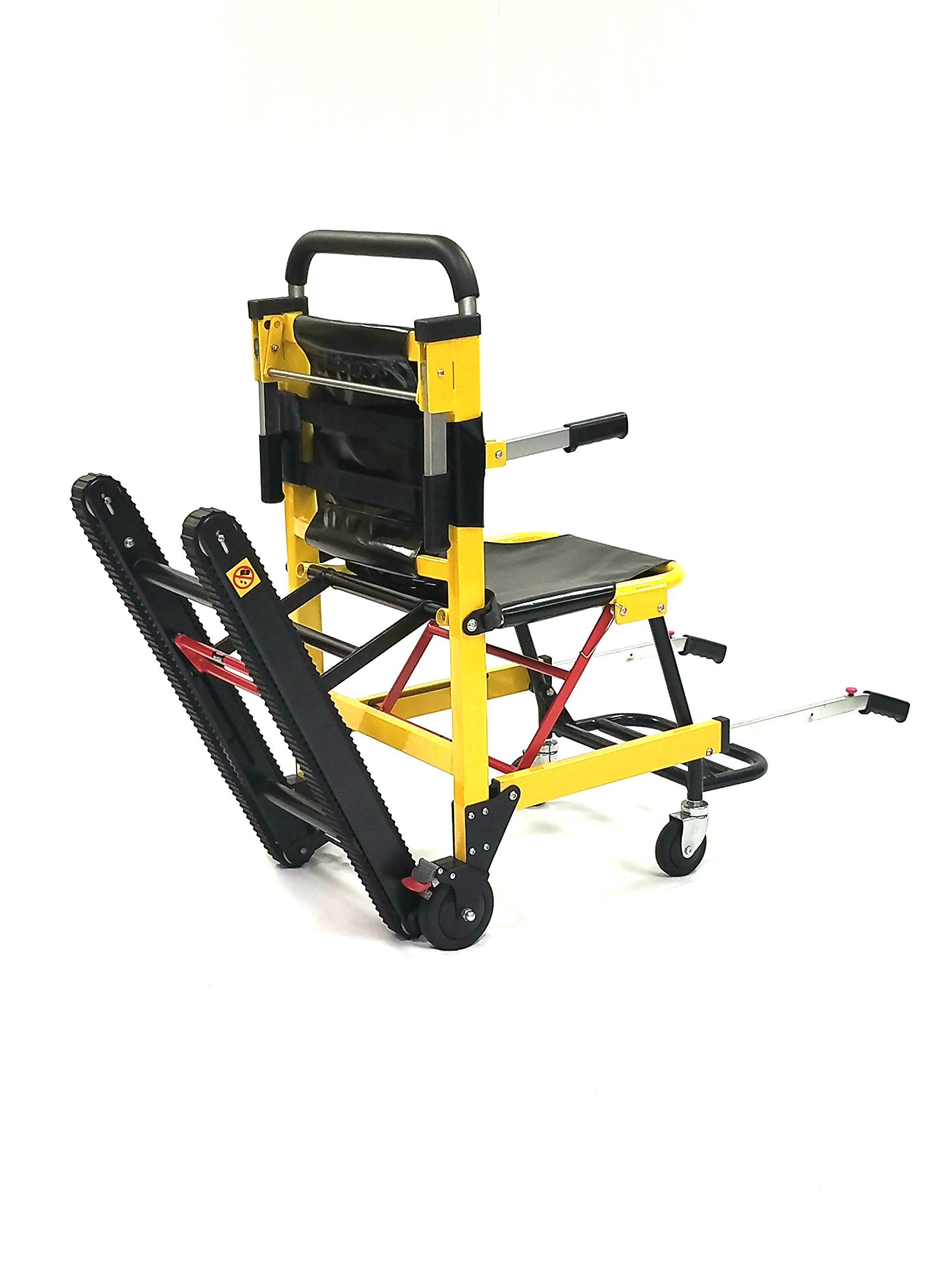 MSEC, MS3C-300TS Aluminum Alloy Emergency Stair Evacuation Chair, Load capacity: 350 lbs.