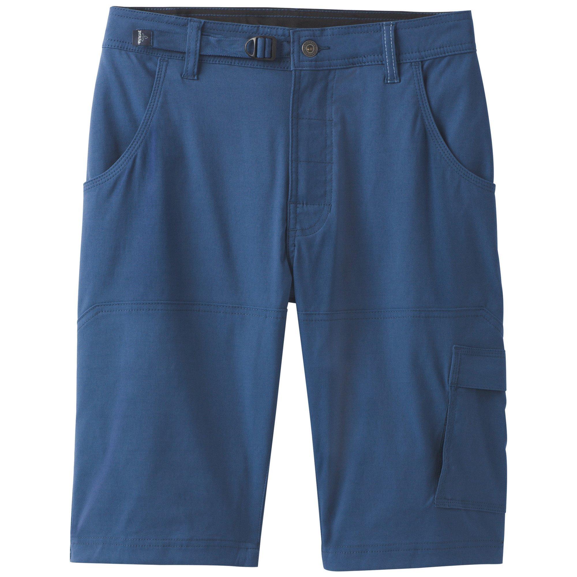 prAna Stretch zion Shorts, Equinox Blue, Size 36