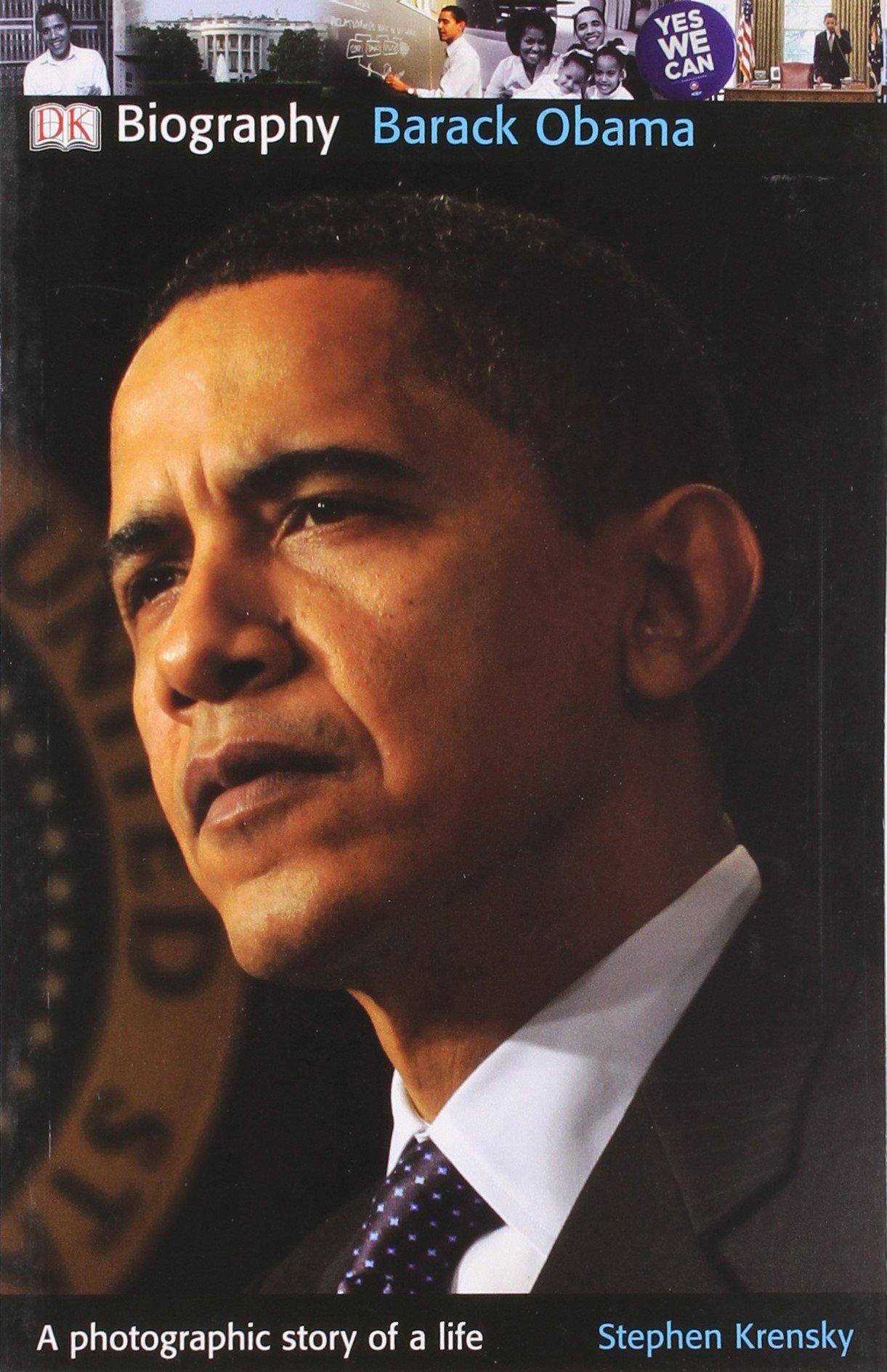 obama biography resume