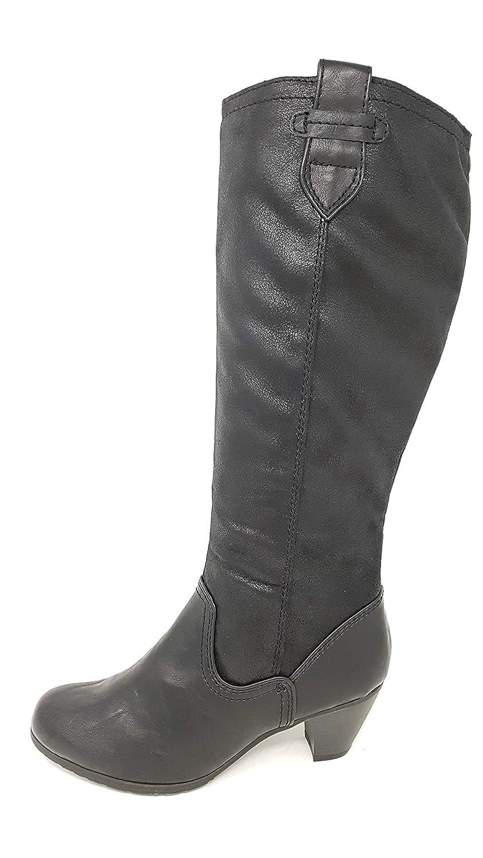 Jana Da.-Stiefel Größe 42 Schwarz (schwarz)