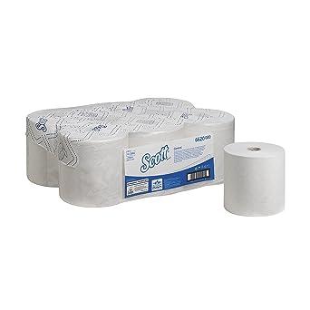 SCOTT* Control Toallas Secamanos en Rollo 6620 - 6 rollos x 250 m de color