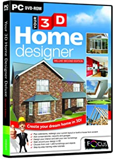 Your 3D Home Designer 2   Deluxe Edition (PC CD)