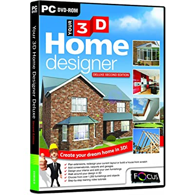 Your 3D Home Designer2 - Deluxe Edition (PC CD)