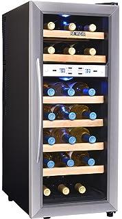 Amazon.com: Danby DWC518BLS 5.1 Cu. Ft. 51-Bottle Silhouette ... on
