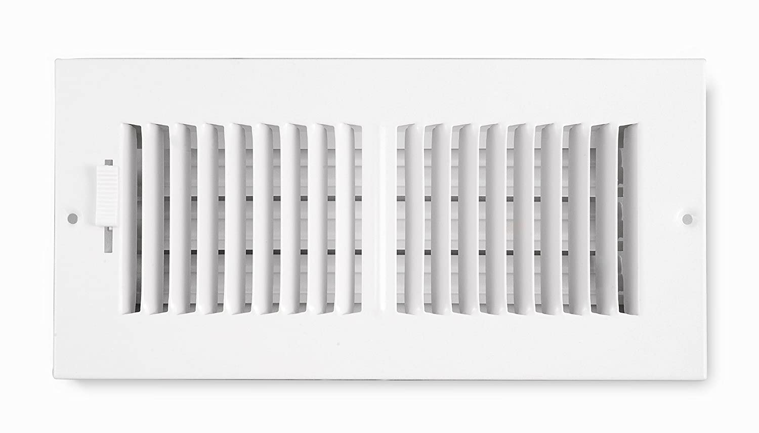 Accord ABSWWH2104 Sidewall/Ceiling Register with 2-Way Design, 10-Inch x 4-Inch(Duct Opening Measurements), White