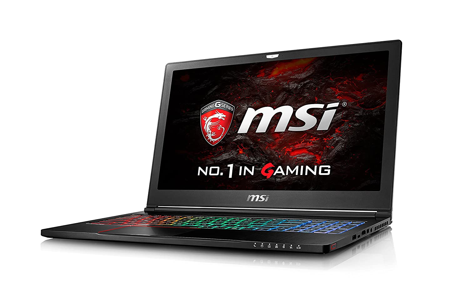 MSI Gaming GS63VR 7RF(Stealth Pro)-212UK 2.8GHz i7-7700HQ 15.6
