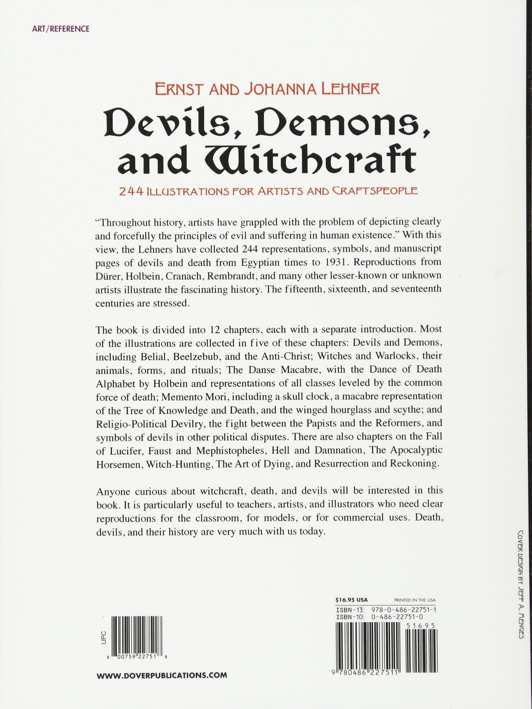 Devils demons and witchcraft ernst lehner johanna lehner devils demons and witchcraft ernst lehner johanna lehner 8601300292601 amazon books biocorpaavc