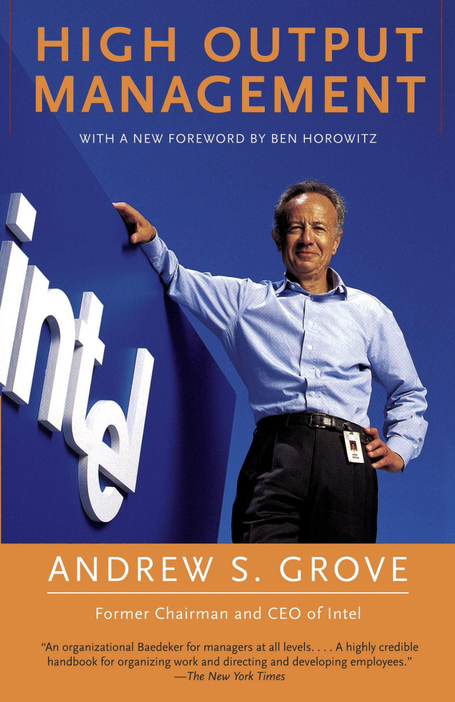 High Output Management: Grove, Andrew S.: 8601404570025: Amazon.com: Books