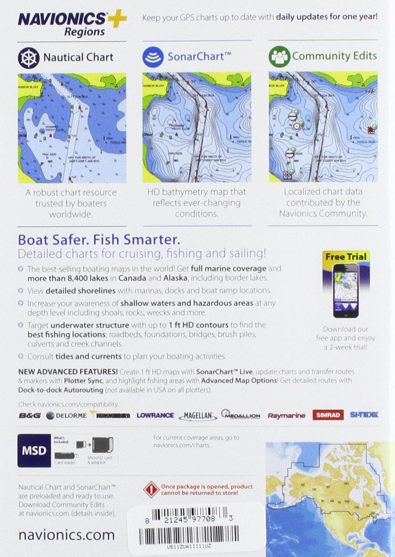 Amazon com: Navionics US Charts, CF Card, New Customer Nautical