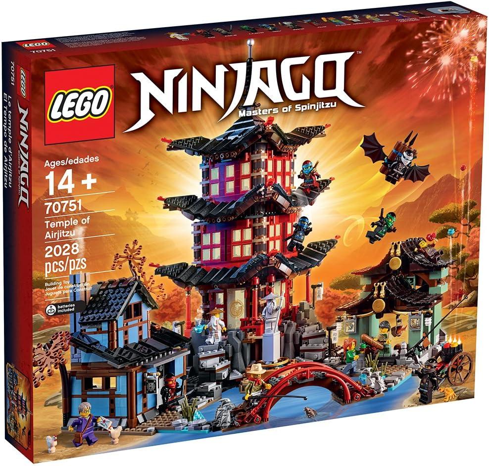 Amazon.com: LEGO Ninjago Temple of Airjitzu 70751: Toys & Games