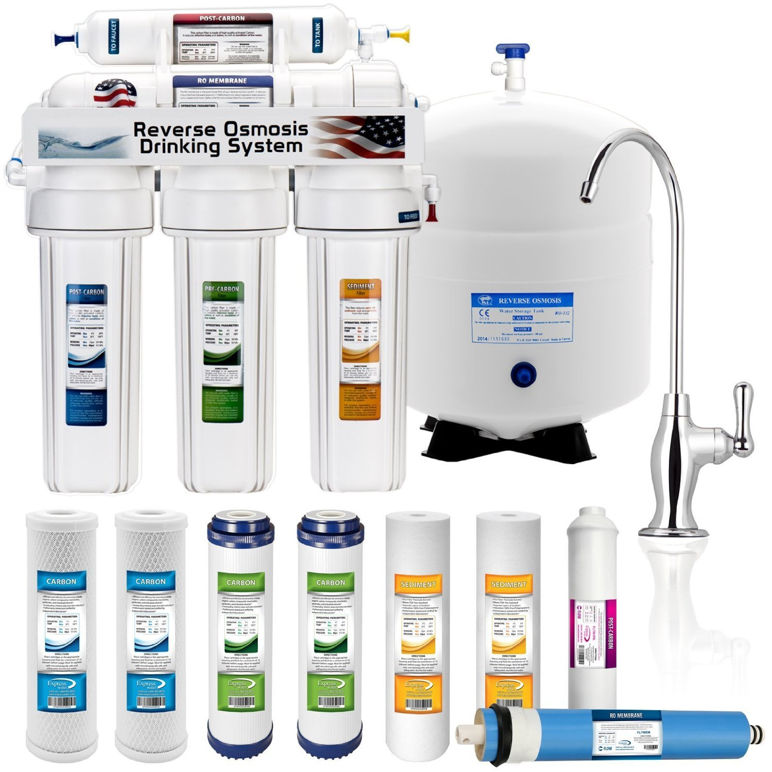 Best Reverse Osmosis System Reviews 2016 2017 Purifier