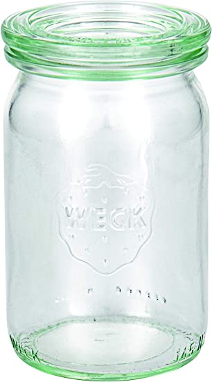 Weck 49870 Einmach-Juego tarros (145 ml, 12 Anillos para