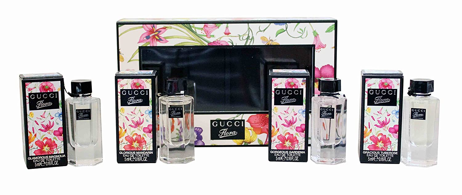 023fa50a4f2 Amazon.com   Flora by Gucci 4-Piece Miniature Collection for Women   Beauty
