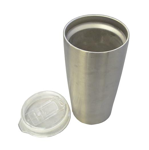 Zap Impex Edelstahl-Gläser, Doppelwand Isoliert mit Deckel Metall ...
