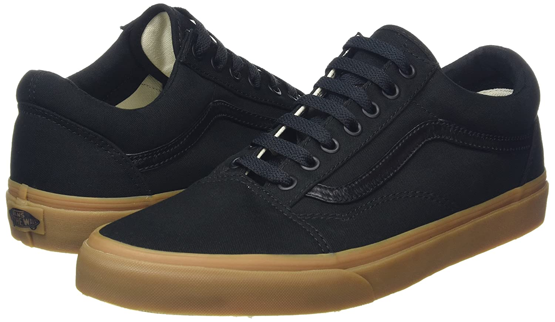 Vans Unisex Old Skool Classic Skate Shoes Women B01CRB66FC 14.5 B(M) US Women Shoes / 13 D(M) US Men|Black Gum f54afa