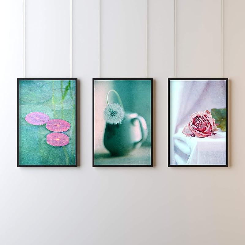 Fotografie Print Kunstdruck 12x12cm Ranunkel Liebe Quadrat