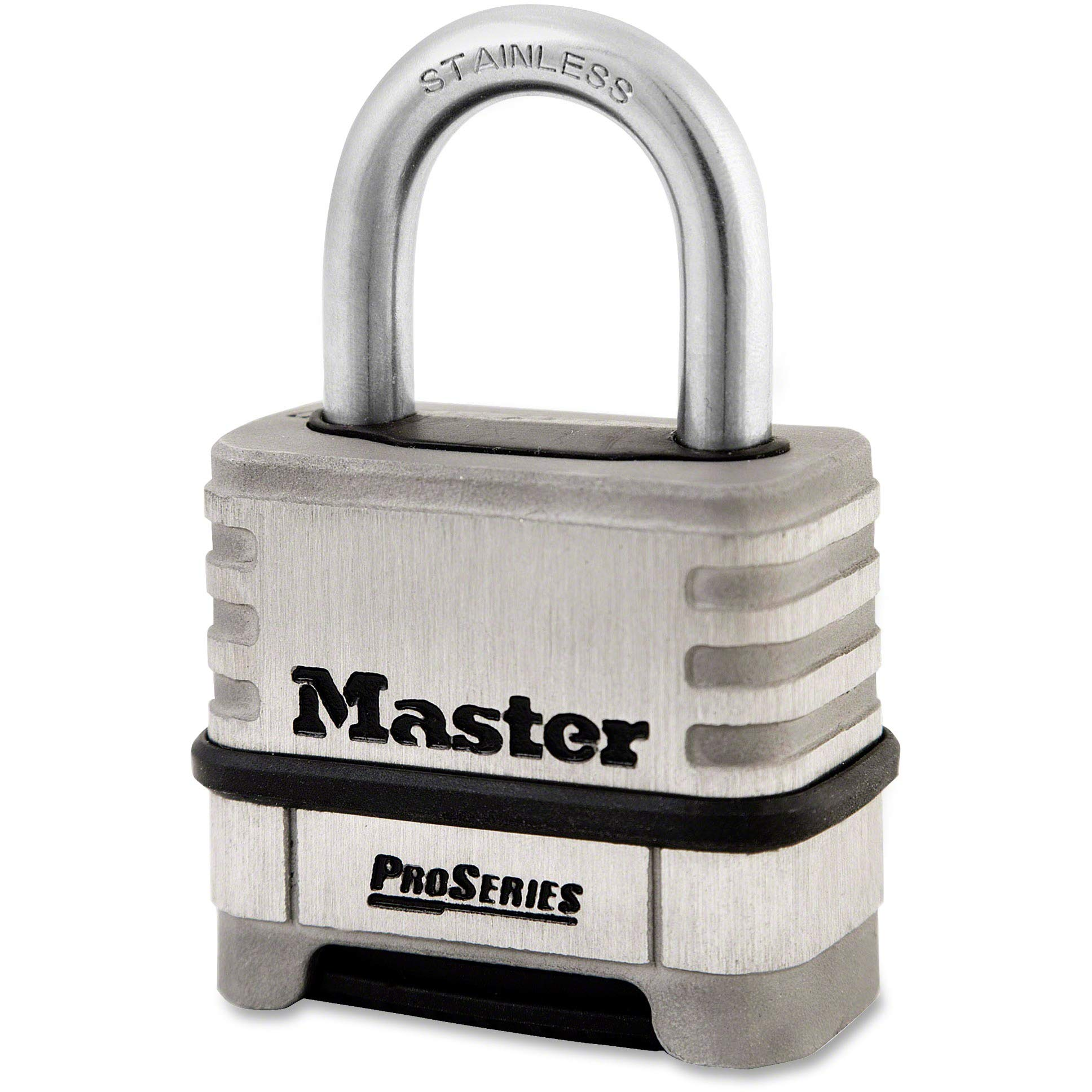 Master Lock ProSeries Stlss Steel Combo Lock (Stainless Steel)