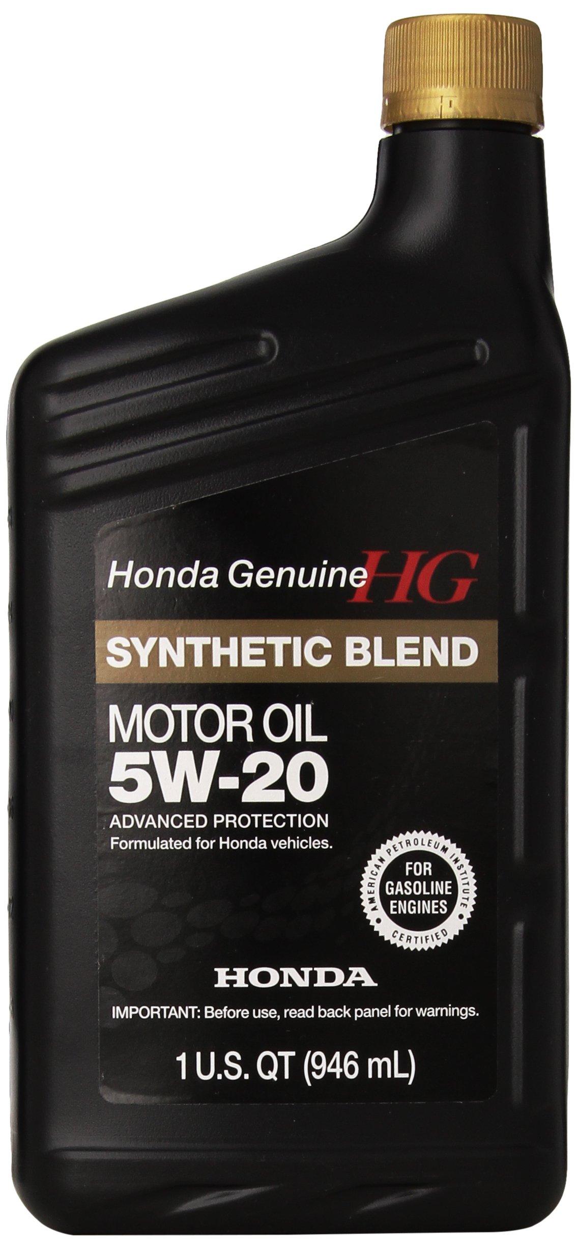 Genuine Honda 08798-9032 Synthetic Blend Oil 5W-20