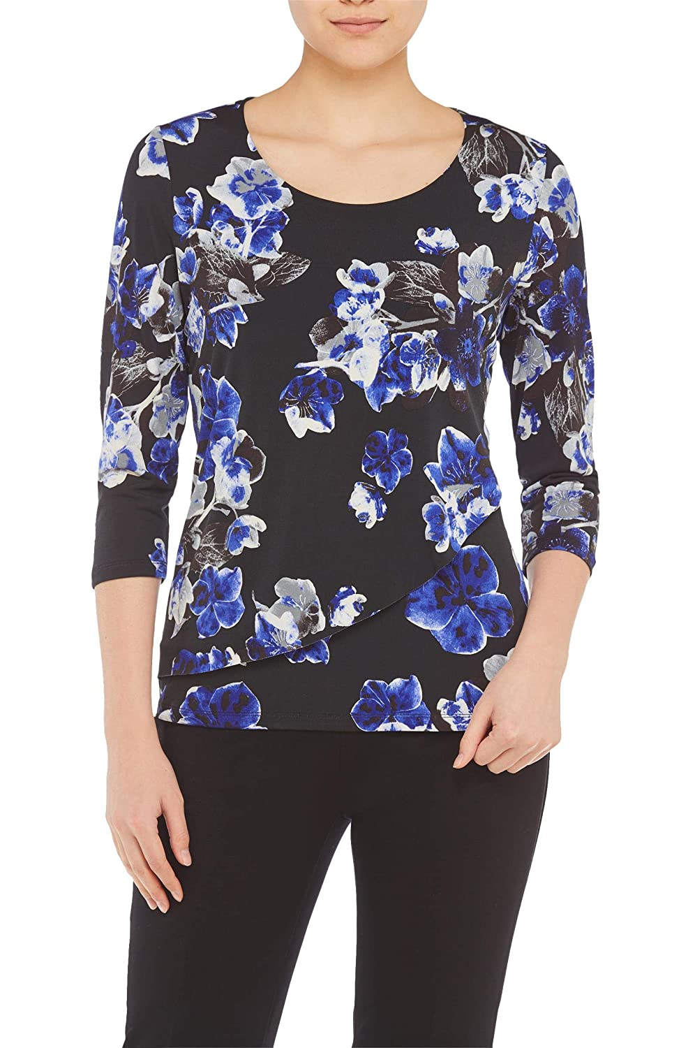 Plus Layered Crossover Top Nygard 4S4M5825