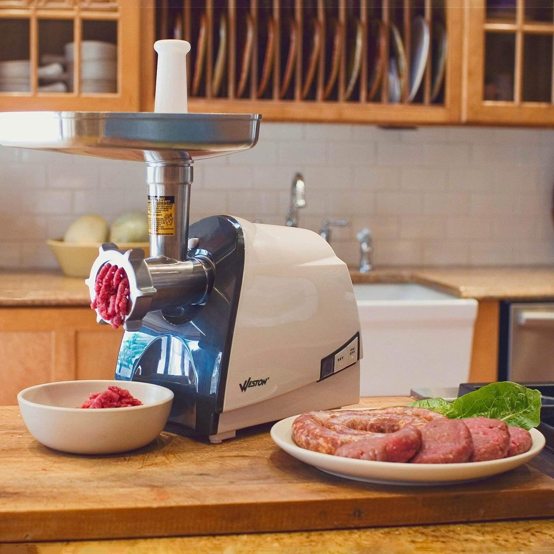 Best Meat Grinder For Hunters Weston 575 Watt Electric Heavy Duty Grinder