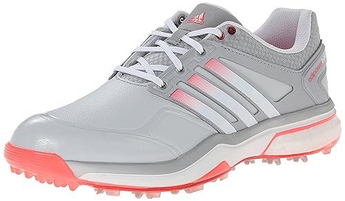 a62db8587f116 adidas Women's W Adipower Boost Golf Shoe, Clear Grey/Running White ...