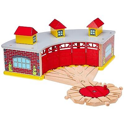 Maxim Enterprise Inc Roundhouse Turntable Combo: Toys & Games
