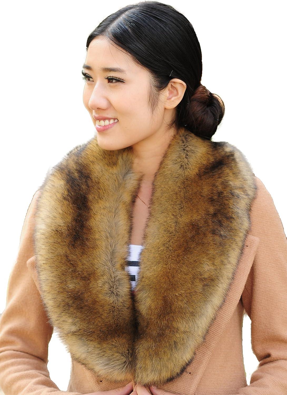 I-KindPec Women's Faux Fur...