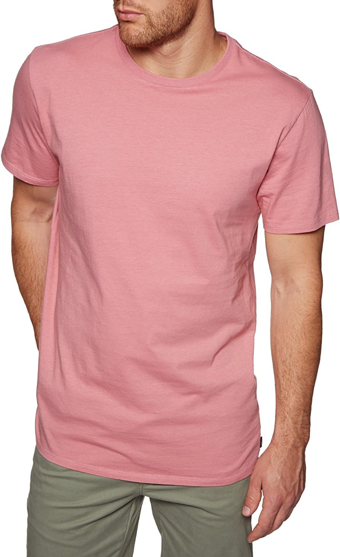 Swell - Camiseta - para Hombre Rosa Dusty Salmon X-Large: Amazon.es: Ropa y accesorios