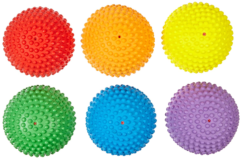 B0042SR0S6 Abilitations Tactile Step-N-Stones Walk-On Domes - Set of 6 - 6 Colors - 009097 81AJJlFNF2BL