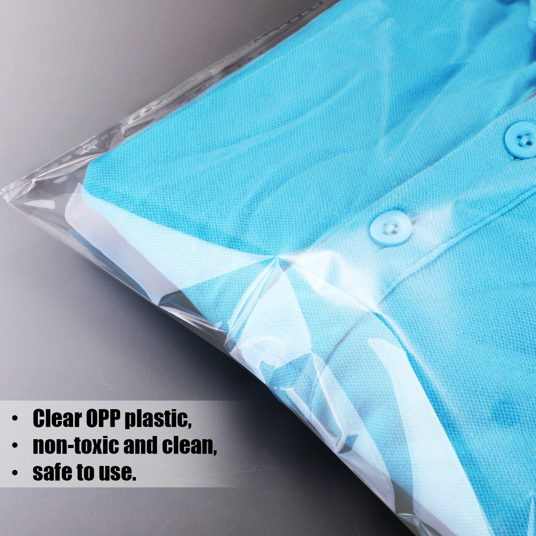 Amazon.com: Hotop - Bolsas adhesivas para camiseta y ropa ...