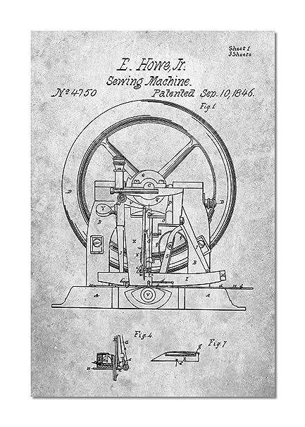 Amazon Sewing Machine Patent Canvas Interesting Patent For Sewing Machine