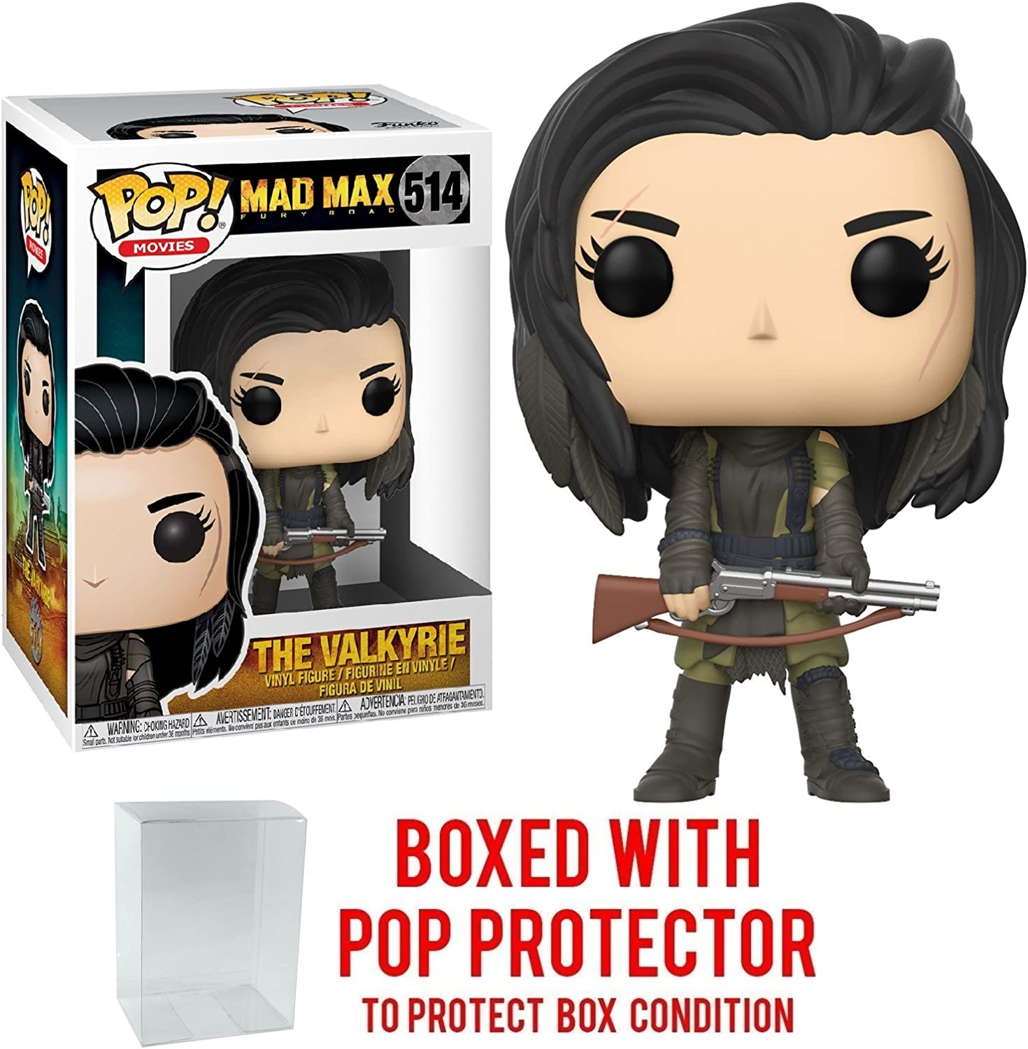 Funko POP Movies Mad Max Fury Road Nux Shirtless Brand New In Box