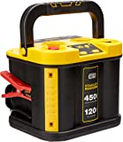 Stanley Fatmax 900 Peak Amp Battery Style Jump Starter with 120 Psi Air Compressor