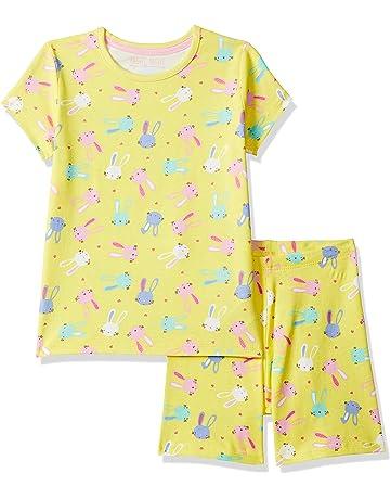 47de9de1e Mothercare Girl s Yellow Bunny Shortie Pyjamas Sets