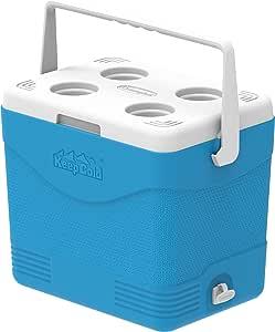 Cosmoplast MFIBXX150BL Keep Cold Plastic Picnic Cooler Icebox 24 Liters
