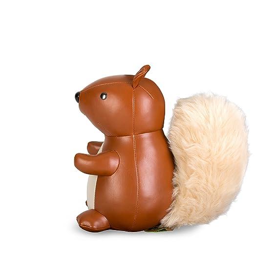 1kg Z/üny serre-livres /écureuil Squirrel//D/écoration Animaux//nostalgisches Jouet Marron