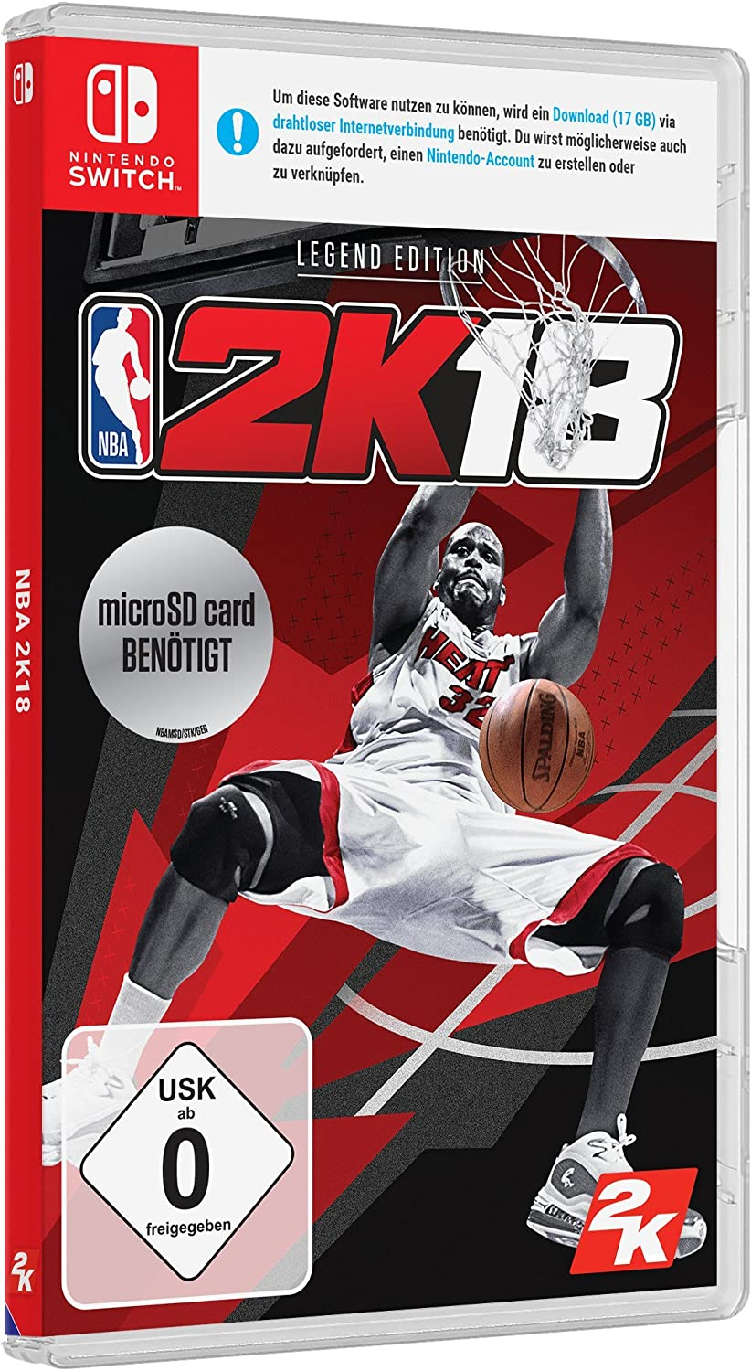 NBA 2K18 - Legend Edition - Nintendo Switch [Importación alemana ...